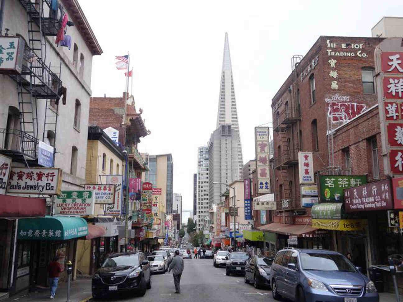 サンフランシスコのチャイナタウン